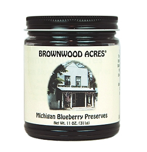 Michigan Blueberries Preserves