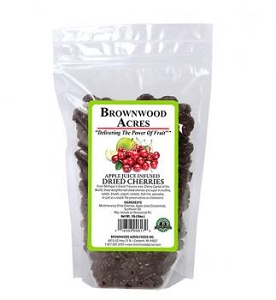 Dried Cherries Sweetened with Apple Juice - 1LB